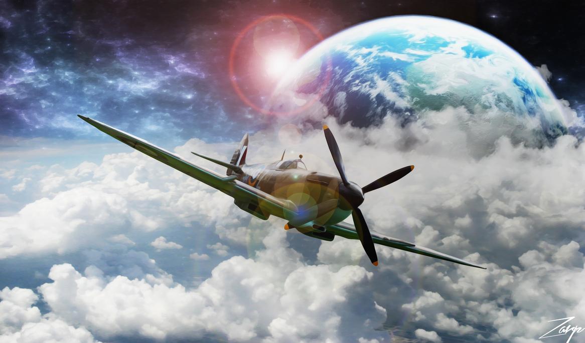 War Plane Space by Gazgoyle