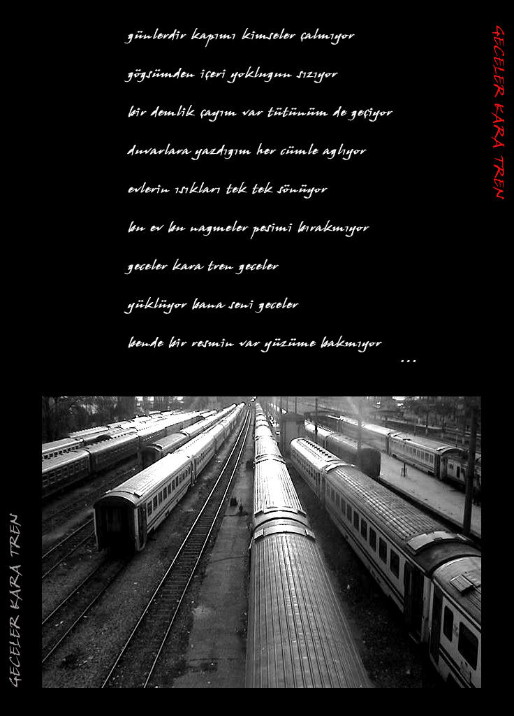 geceler kara tren by naylon