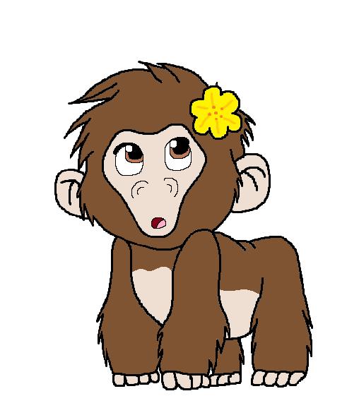 Tarzan oc tana by warriormoonnight on deviantart - Tarzan gorille ...