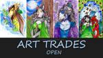 Art trades -open- by Lunulka