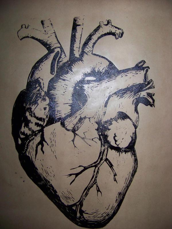 Human Heart Dictionary Art Print No. 0008 · Altered ...   Human Heart Art