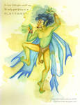 Flat Fairy Moth by Dharma-Romo