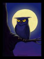 Owl by Dharma-Romo