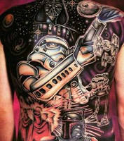 Star Wars Tattoo by FelixKelevra