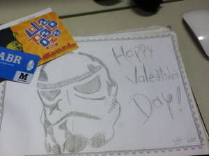 Storm Trooper Valetines Comic