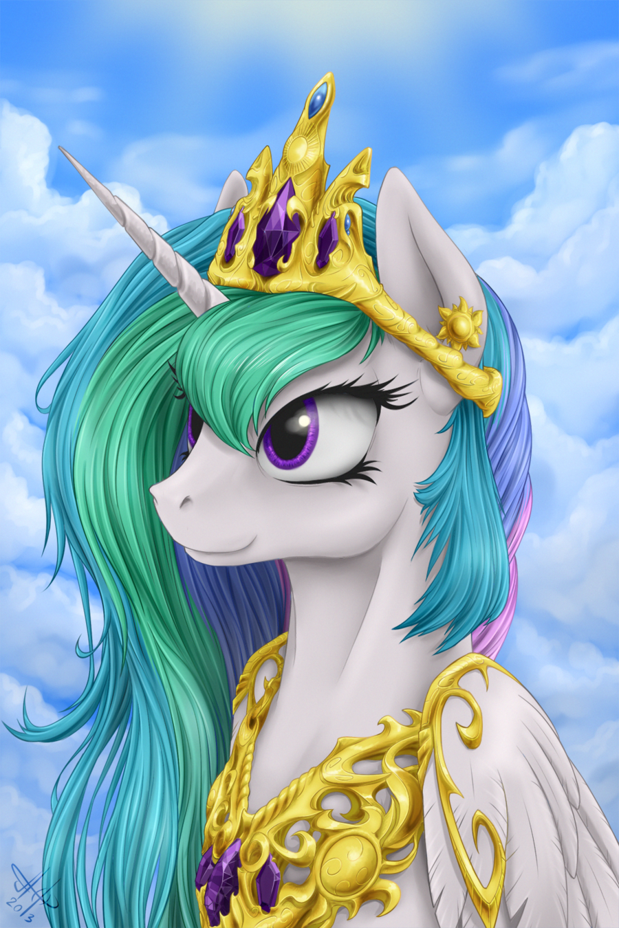 princess Celestia by 1Jaz