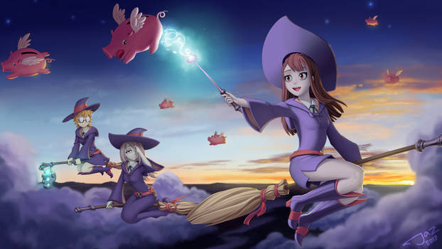 My Little Witch Academia by 1Jaz