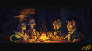 Campfire by 1Jaz