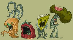 Zombie Veggies