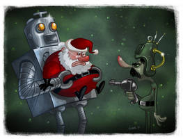 Santa Claus Conquers the Martians by JeffVictor