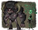 Minotaur and Medusa