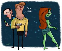 Star Trekkin by JeffVictor