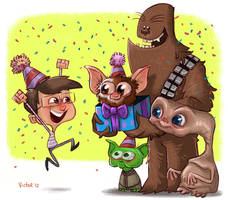Happy Birthday to an 80s kid by JeffVictor