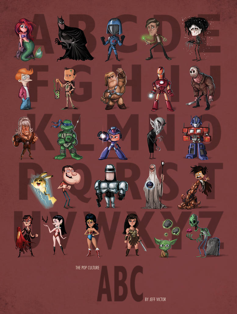 The Ultimate Pop Culture ABC by JeffVictor