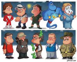 The Evolution of Robin Williams