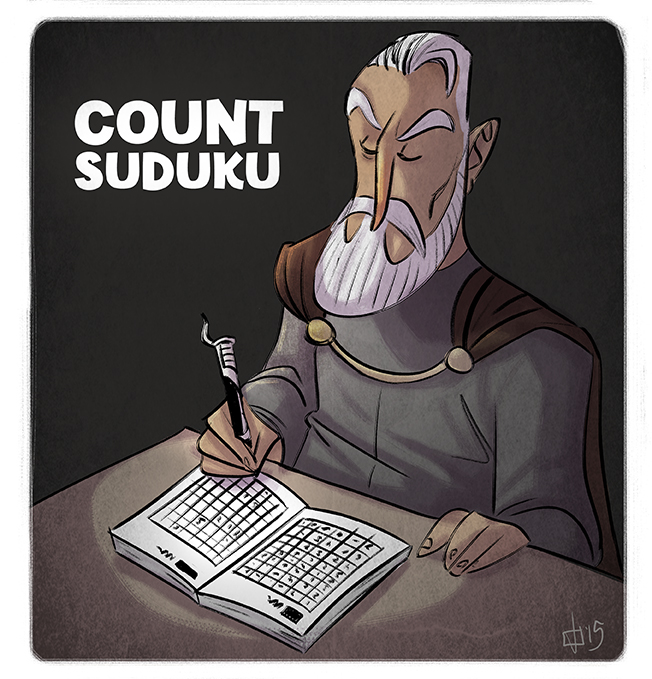 Count Suduku by JeffVictor