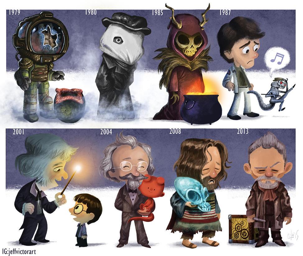 The Evolution of John Hurt by JeffVictor