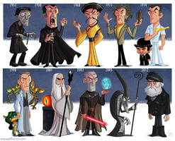 The Evolution of Christopher Lee