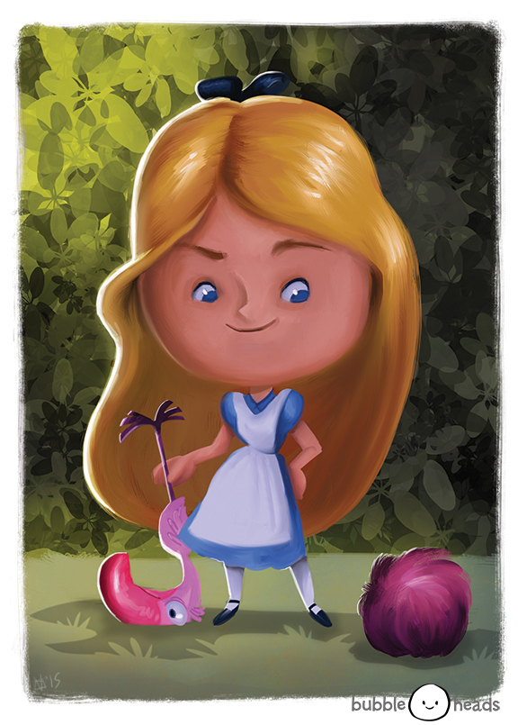 Bubblehead: Alice by JeffVictor