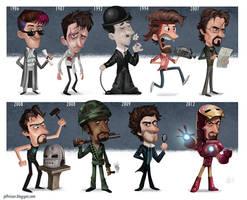 The Evolution of Robert Downey Jr