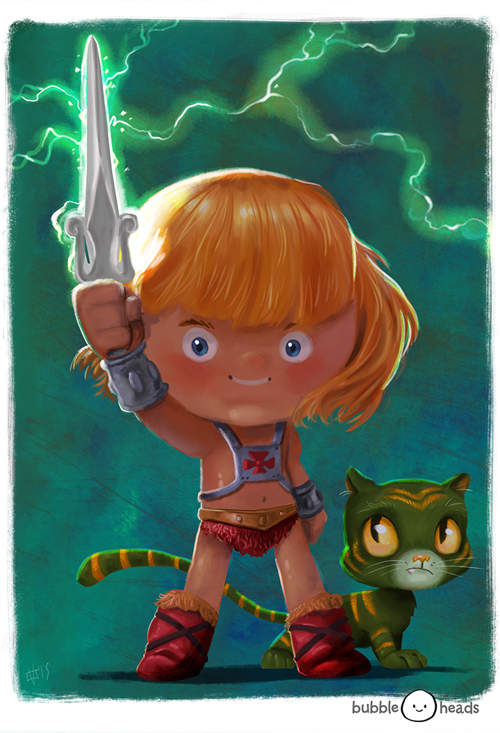 Bubblehead: He Man by JeffVictor