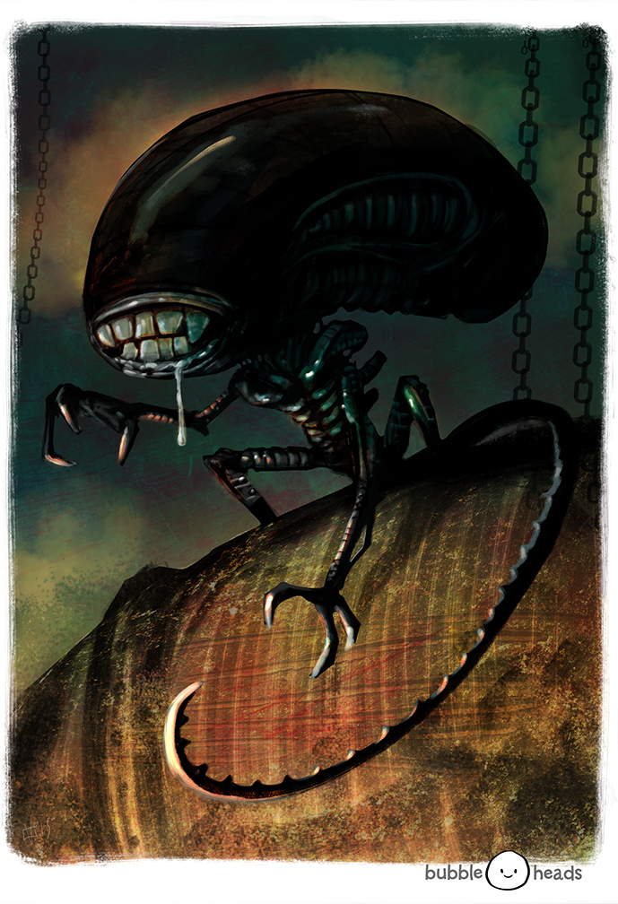 Bubblehead: Alien by JeffVictor