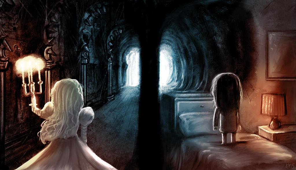 Movie Mashup: Crimson Peak/ Paranormal Activity by JeffVictor