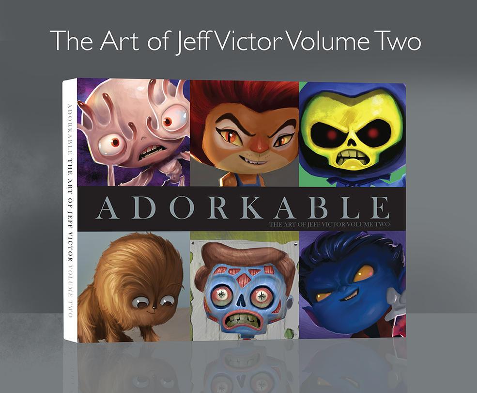 My new book, Adorkable is live on Kickstarter! by JeffVictor