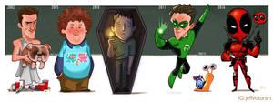 The Evolution of Ryan Reynolds
