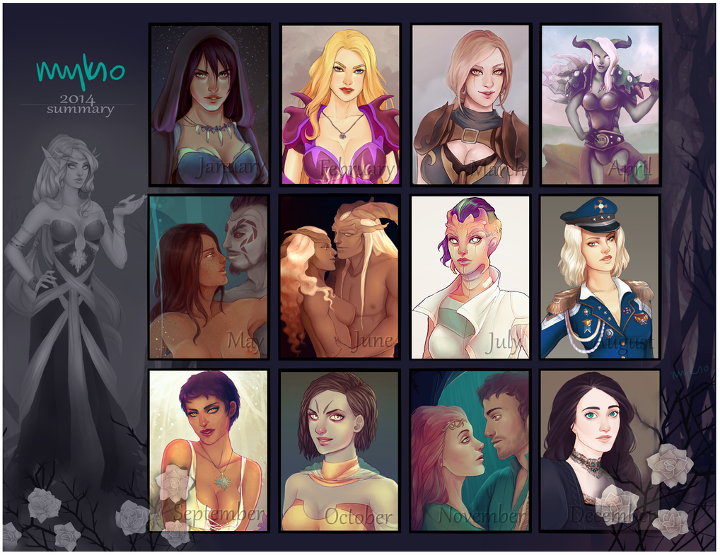 2014 - year of babes by myks0