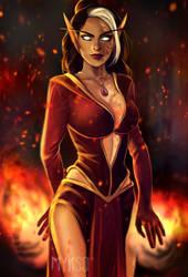The Fire by myks0