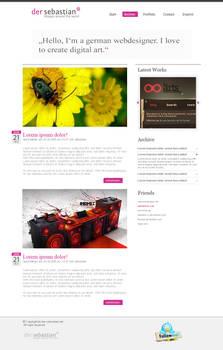 Blogdesign der-sebastian
