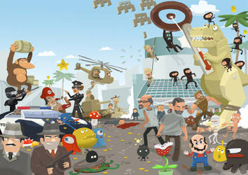 PC GAME E3 by adui