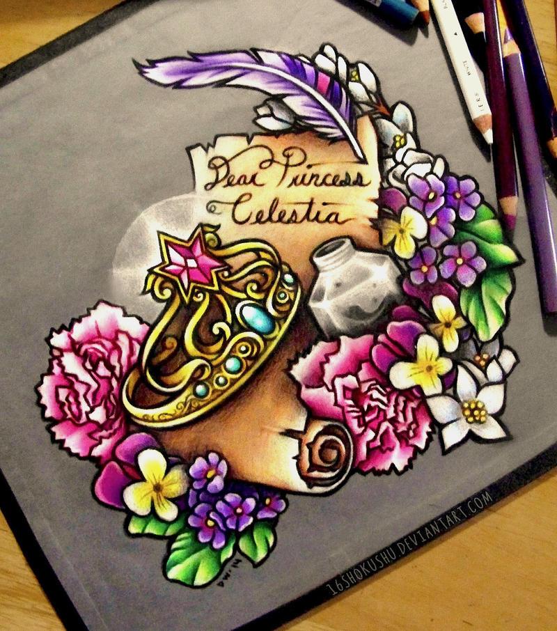 Dear Princess Celestia by dannii-jo