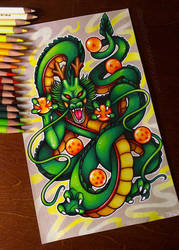 Shenron - Commission by dannii-jo