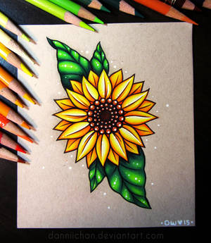 Sunflower - Commission