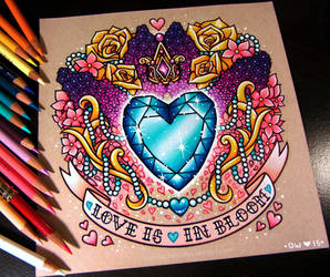 Princess Cadence's Cutie Mark - Commission by dannii-jo