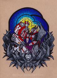 Glass Robots - Commission by dannii-jo