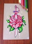 Rose Quartz Sword
