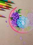 Purple Petals - WIP