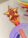 Sailor Mars Star Wand - WIP