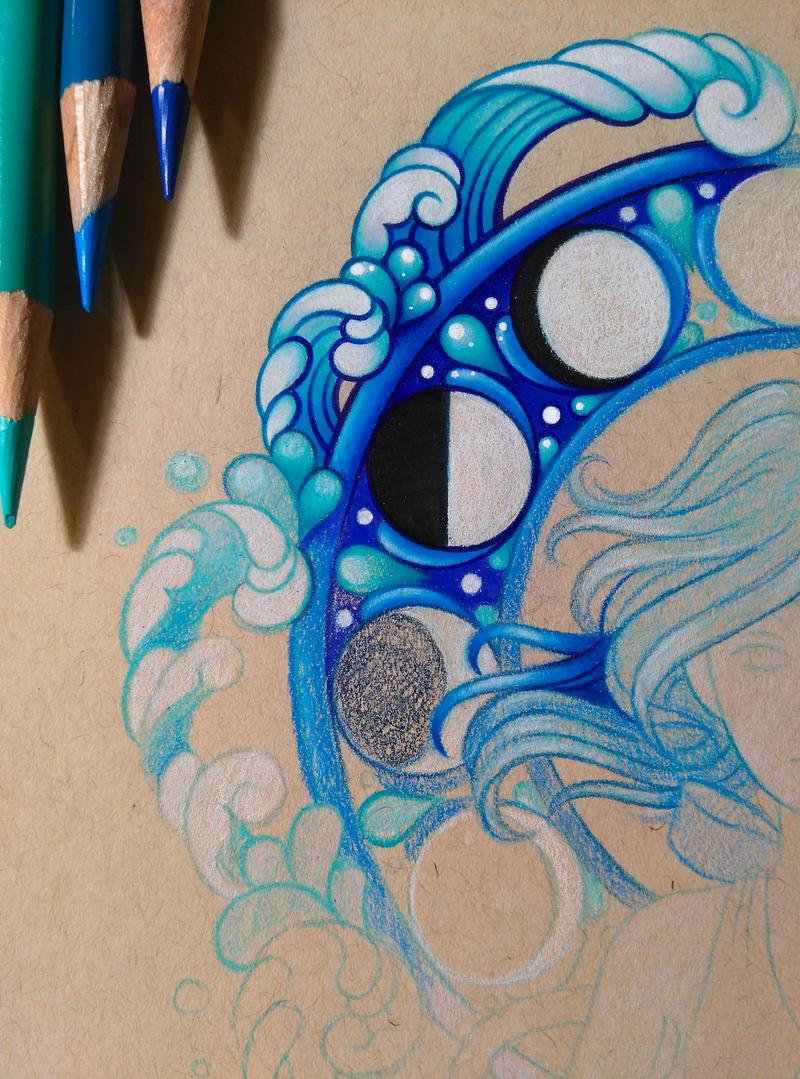 Lapis Lazuli - WIP by dannii-jo