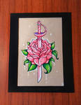 Rose Quartz' Sword - FOR SALE
