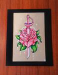 Rose Quartz' Sword - FOR SALE
