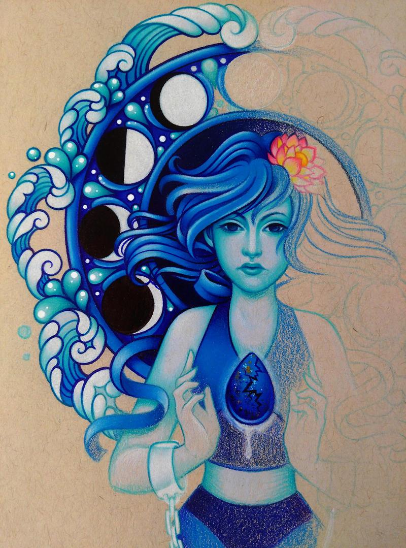 Lapis Lazuli - WIP 2 by dannii-jo