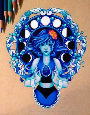 Lapis Lazuli - Commission by dannii-jo
