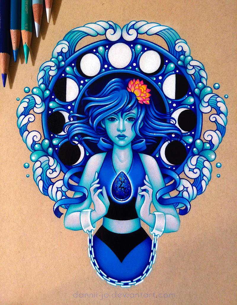 Lapis Lazuli - Commission