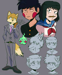 Mob Psycho 100 by Calicocoin