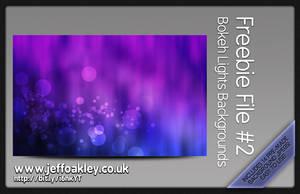 Bokeh Lights Background by sirjeffoakley