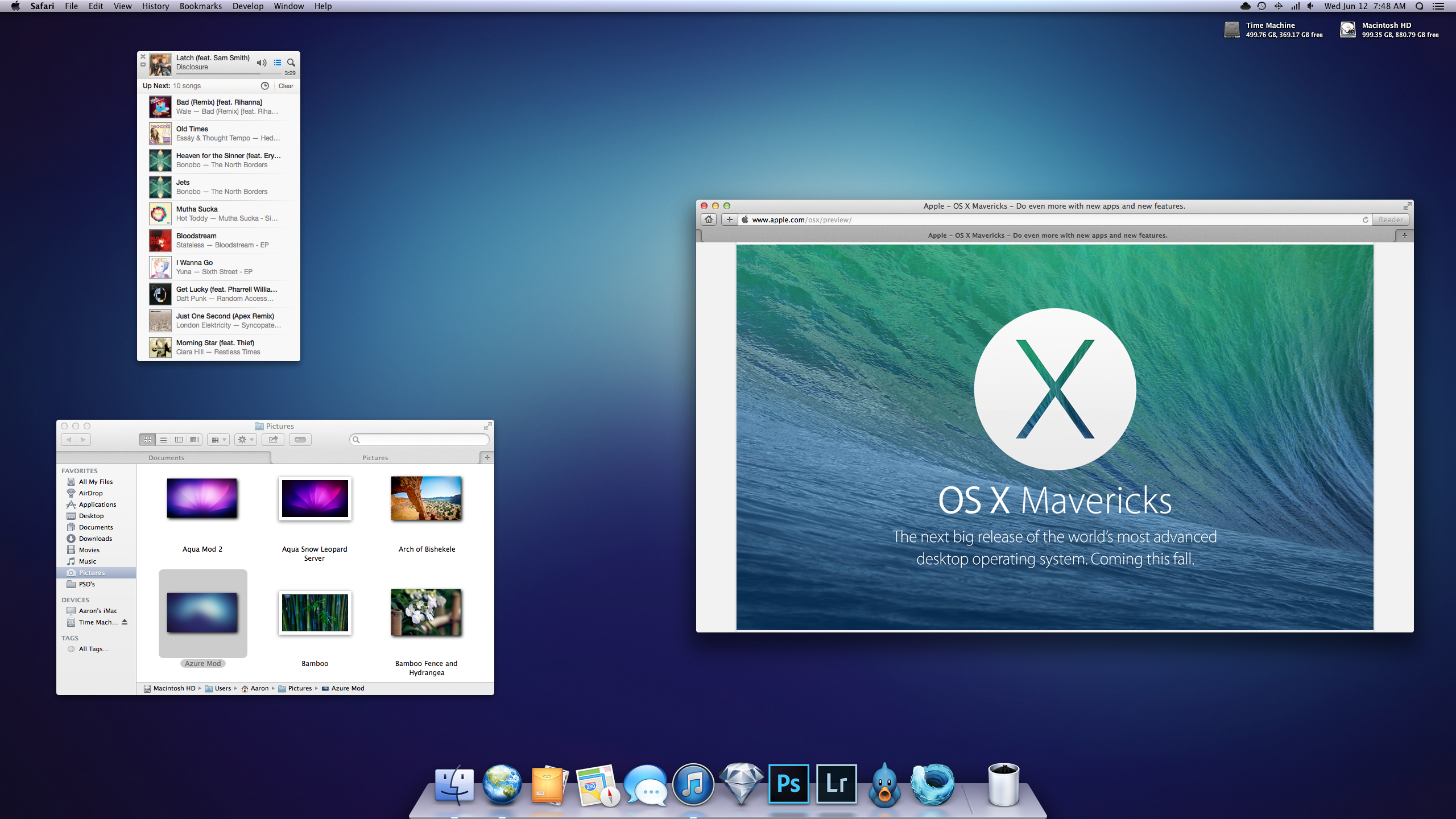 June 2013 OS X 10.9 by AaronOlive
